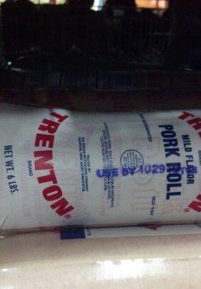 Trenton Brand Pork Roll