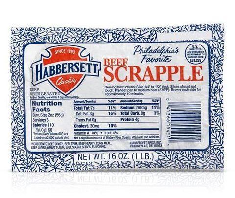 Habbersett Beef Scrapple