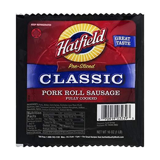 Hatfield Classic Pork Roll Sausage
