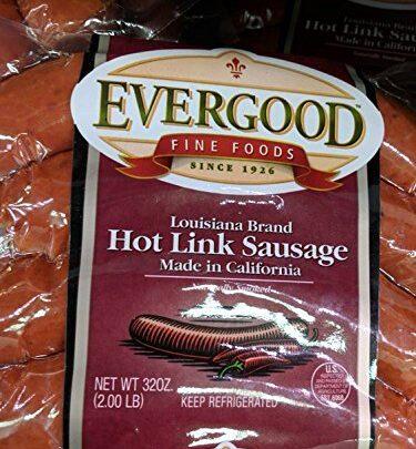 Evergood Hot Link Sausage