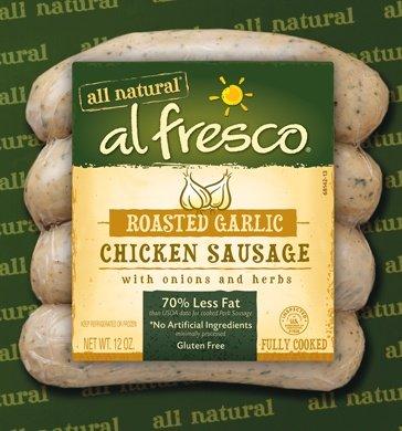 Al Fresco Roasted Garlic Chicken Sausage