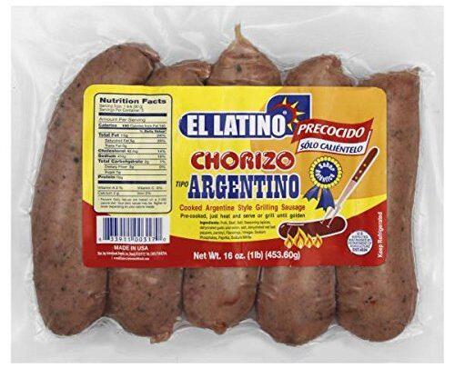 El Latino Chorizo Argentino Sausage