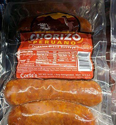 Cortes Chorizo Peruano Sausage