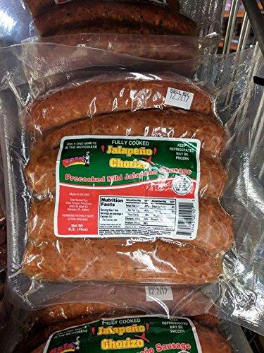 Cale Jalapeno Chorizo Sausage