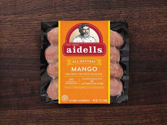 aidells mango chicken sausage