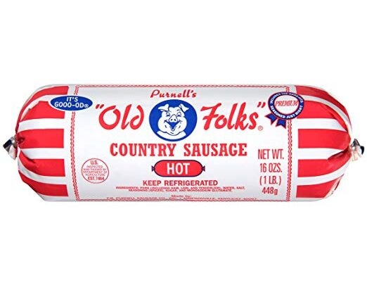 Purnell's Old Folks Hot Country Sausage