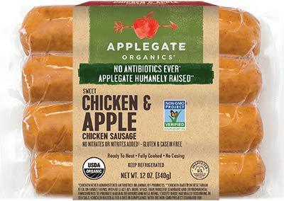 Applegate Sweet Chicken & Apple Chicken Sausage