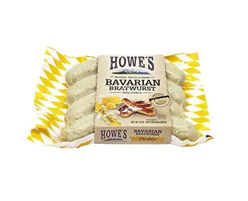 Howe's Cheddar Bavarian Bratwurst