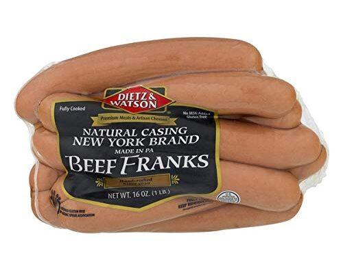 Dietz & Watson Natural Casing New York Beef Franks