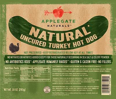 Applegate Natural Uncured Turkey Hot Dogs