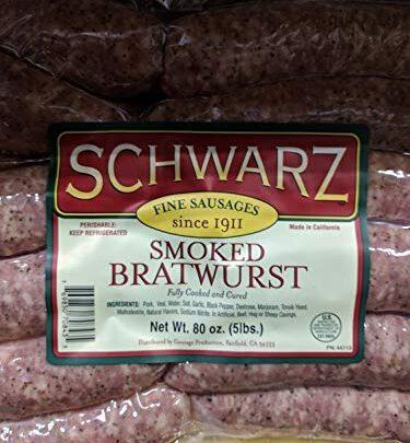 Schwarz Smoked Bratwurst
