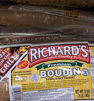 Richard's Spicy Boudin Sausage