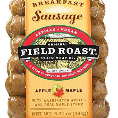 Field Roast Apple Maple Breakfast Sausage
