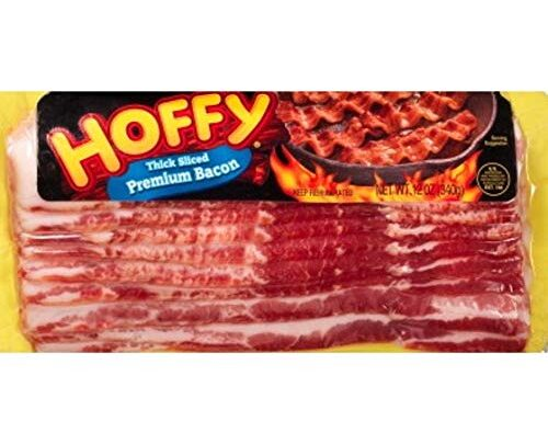 Hoffy Thick Sliced Premium Bacon