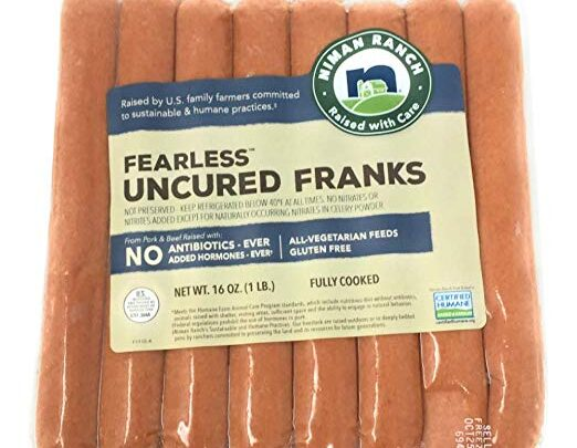 Niman Ranch Fearless Uncured Franks