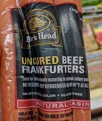 Boar's Head Uncured Beef Frankfurters