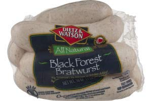 Dietz & Watson Black Forest Bratwurst