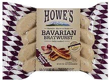 Howe's Carmelized Onion Bavarian Bratwurst
