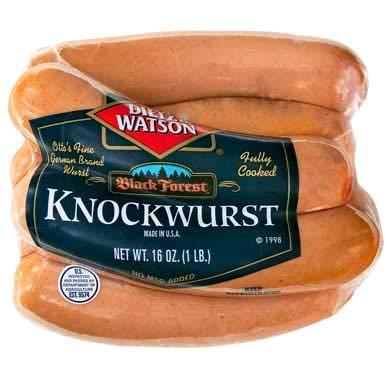 Bratwurst/Knockwurst