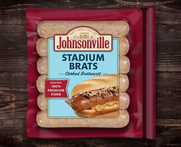 Johnsonville Stadium Brats