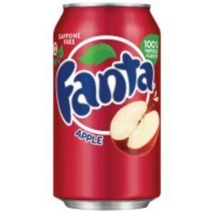 Fanta Apple Soda 12 Oz (24 Pack)