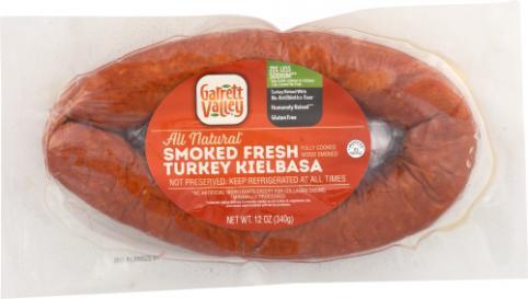 Garrett Valley Smoked Turkey Kielbasa