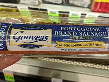 Gouvea's Original Portuguese Sausage