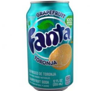 Fanta Grapefruit Soda 12 Oz (24 Pack)