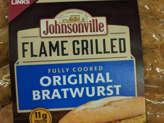 Johnsonville Flame Grilled Bratwurst