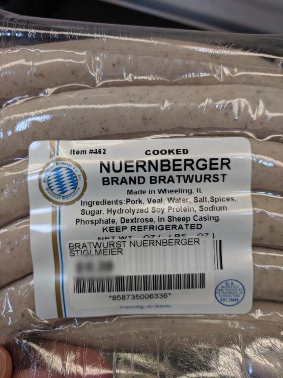 Stiglmeier Nuernberger Bratwurst