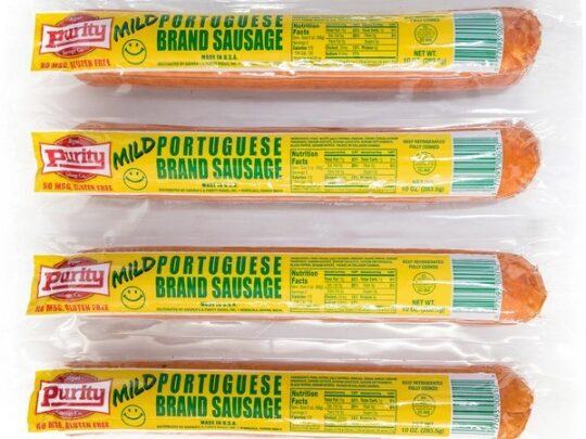 Purity Mild Portuguese Sausage
