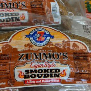 Zummo's Cajun Smoked Boudin 12 Oz (4 Pack)
