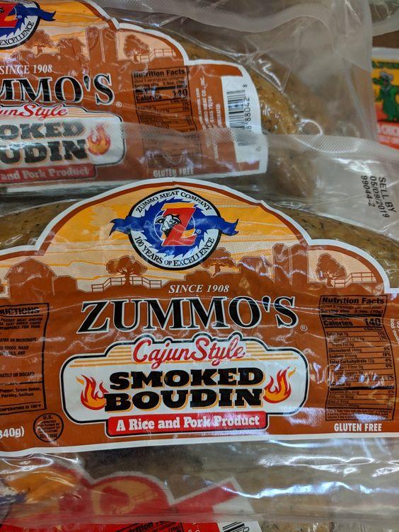 Zummo's Cajun Smoked Boudin