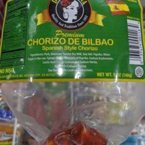 Dona Juana Chorizo de Bilbao 5 Oz (6 Pack)