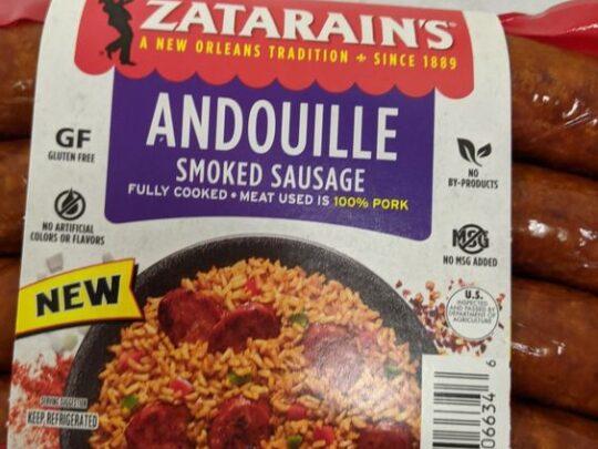 Zatarain's Smoked Andouille Sausage