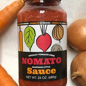 Nomato Tomato Free Marinara Sauce 24 Oz (6 Pack)