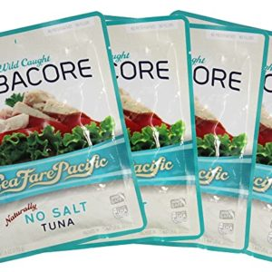 Seafare Pacific Salt Free Albacore Tuna 6 Oz (12 Pack)