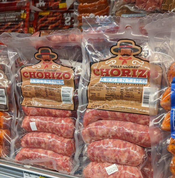 Cortes Chorizo Argentino Sausage